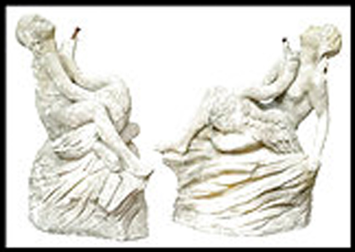 Antique garden statuary
