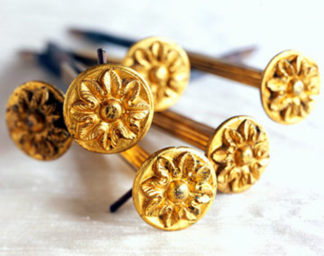 Antique Curtain Pins