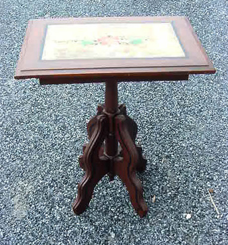 American Painted Wood Cottage Table