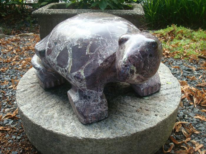 TURTLE MARBLE SCULPTURE