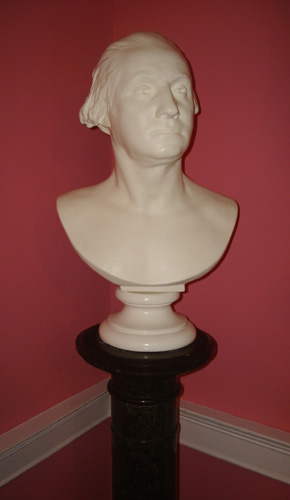 GEORGE WASHINGTON BUST AFTER JEAN-ANTOINE HOUDON (1741-1828)