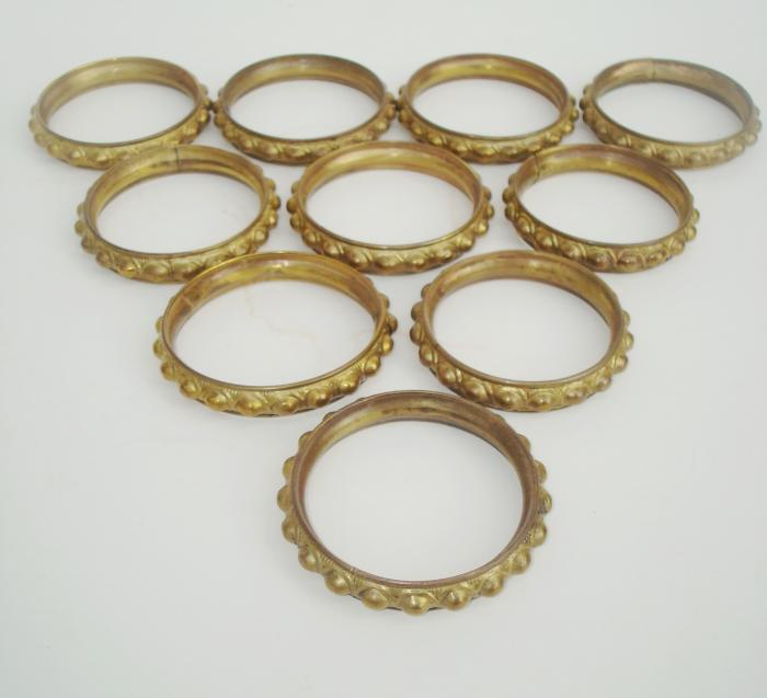 Curtains Ideas curtain rings brass : Showcase | Curtain Hardware | Garden Antiques & Decorative Arts