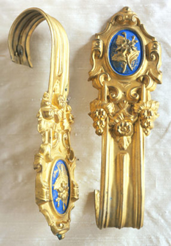 Antique Curtain Tiebacks